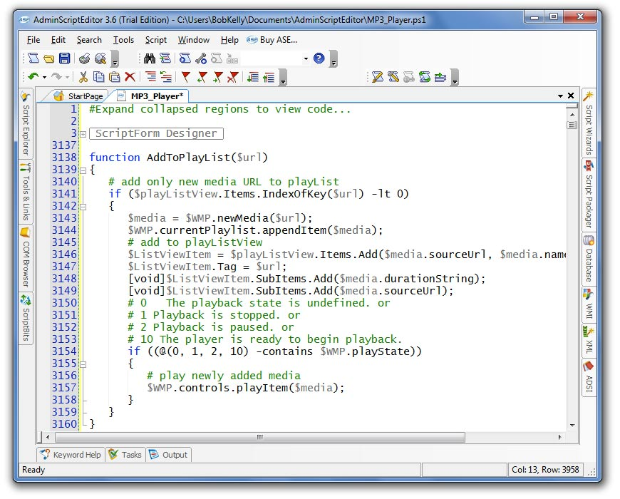 Admin Script Editor (ASE) Community | ITNinja
