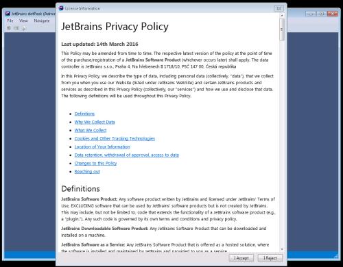 Q&A: Jetbrains dotpeek 2015 2 2 packaging issue | ITNinja
