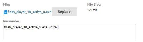 adobe flash player 18 npapi offline installer