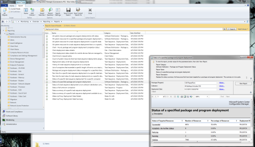 Article: SCCM 2012 Package Deployment Status Report | ITNinja