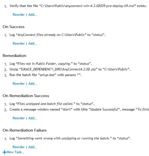 Q&A: Script always running  It doesn't report