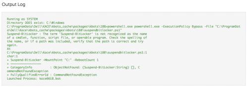 Q&A: Suspending Bitlocker (Powershell or as cmd line) | ITNinja
