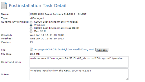 dell kace agent 5.4