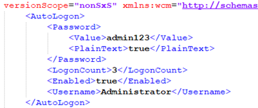 Article: Validating Unattend xml files with System Image