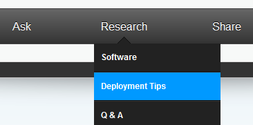 ITNinja Research > Deployment Tips