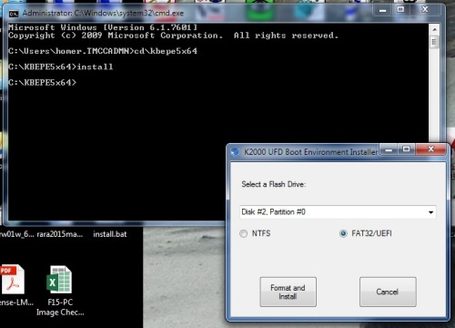 Q&A: Bootable USB for UEFI installation in scripted install