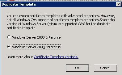 Article kace how to create an internal microsoft windows select windows server 2008 enterprise and click ok in the template display yelopaper
