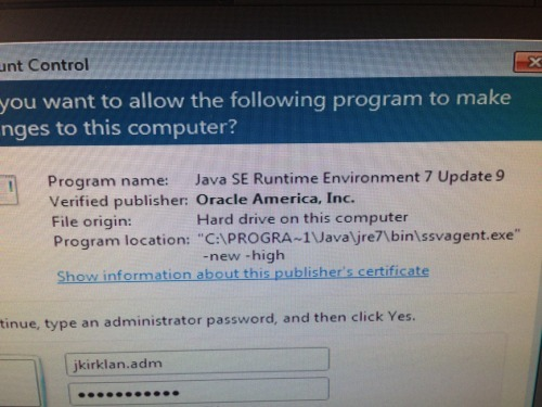 Q&A: Uninstall Java and get ssvagent exe prompt | ITNinja