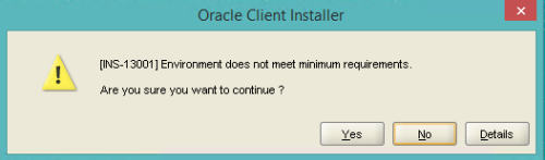 Q&A: How to Install Oracle 11g Client silent on Windows 8